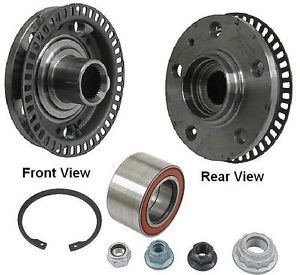 Meyle Brand Front Rear Wheel Hub FAG Brand Bearing Kit for Beetle Golf Jetta