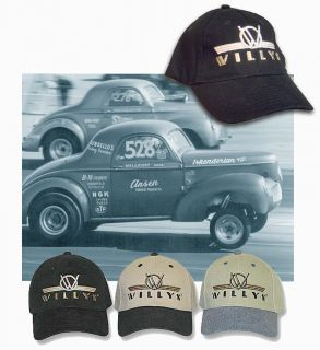 Willys Hat Vintage Drag Gasser Hot Rat Rod 1938 1939 1940 1941 426 Hemi
