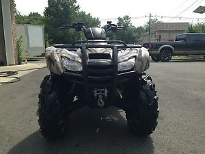 Mint Honda Rancher 420 ES EFI 4x4 Camo Brand New ITP Rims and Zilla Tires Winch