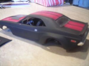 Built Model Car Parts 72 or 73 Dodge Challenger Project Custom Car Junkyard