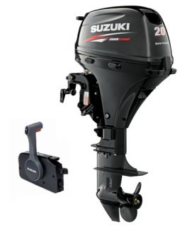 "20HP EFI Suzuki 4 Stroke Outboard Motor 15"" Short Shaft Remote Electric Start"