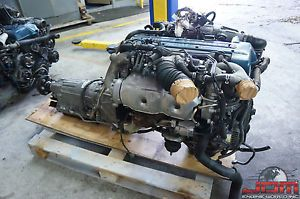 Toyota Aristo Supra 2JZGTE vvti Engine Auto Transmission ECU Twin Turbo JDM 2jz