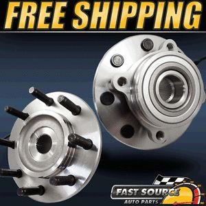 2 New Front Dodge RAM 2500 3500 Wheel Hub and Bearing Assembly Pair 4x4 F071220