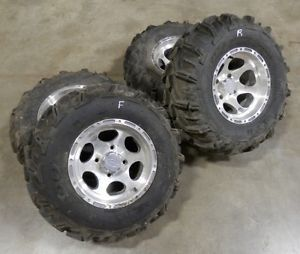 Honda TRX 500 Foreman Rubicon ITP Mud Lite XTR Tires Wheels Kodiak Grizzly