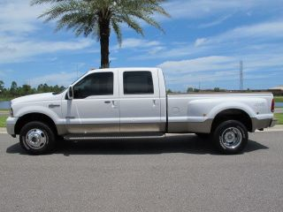 Ford F350 King Ranch Super Duty Crew Cab FX4 4x4 Powerstroke Diesel Dually