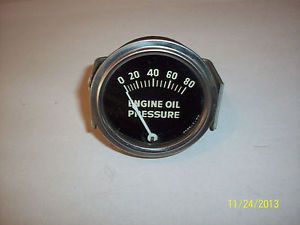 "2 1⁄16"" Mechanical Oil Pressure Gauge Stewart Warner"