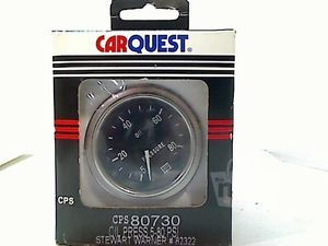 Stewart Warner 82322 in Dash Oil Pressure Gauge Kit 2 inch 5 80 PSI Analog