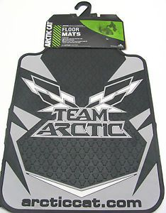 Arctic Cat Team Arctic Floor Mats Truck Car Pickup SUV Van Black 5639 414