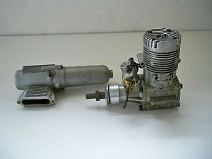 Como s 61 Gas Nitro RC Engine Model Airplane Helicopter Motor with Muffler Nice