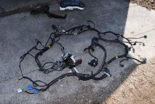 Used Talon Eclipse 420A 5 Speed Manual Engine Wiring Harness Uncut 95 96