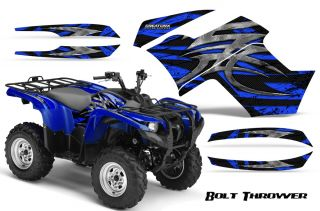 Yamaha Grizzly 700 550 Graphics Kit Decals Stickers BTBL