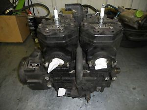 1994 Arctic Cat ZR 700 Engine w Oil Water Pumps Recoil Stator Etc