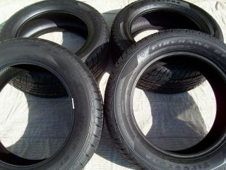 Firestone Firehawk Pursuit 235 55 R17 Ford Crown Vic Police P71 Interceptor Tire