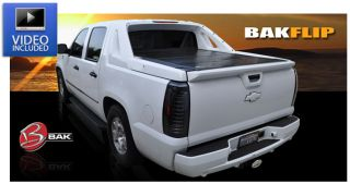 Bak Flip 72108 F1 Fold Up Tonneau Cover for Chevrolet Avalanche Crew Cab