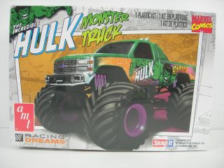 AMT 1 32 Chevy Hulk Monster Truck Snap Kit AMT792