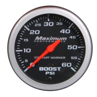 Stewart Warner Maximum Performance Series Analog Gauge 214542
