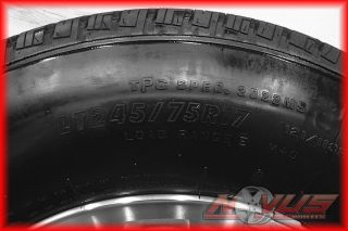 "17"" GMC Sierra Chevy Silverado 2500 Wheels Firestone Tires 8 Lug 2011 16 18"