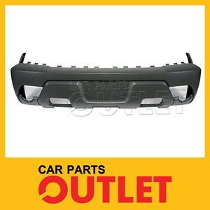2002 Chevy Avalanche 1500 Front Bumper Cover Body Cladding Textured Gray Plastic