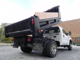 2005 Ford F 350 XL Super Duty Dump Truck 4x4 6 0L Powestroke Diesel Low Miles