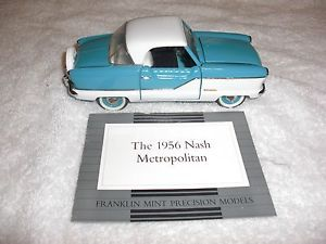 Franklin Mint 1956 Metropolitan Nash Diecast Model 1 24 Scale