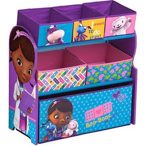 Disney Doc McStuffins Multi Bins Toy Organizer for Girls Boxes Storage Toddler