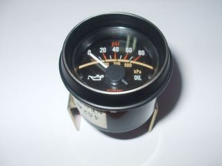 Stewart Warner Electric Oil Pressure Gauge 0 80