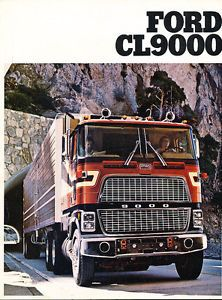 1979 Ford CL9000 Semi Truck Sales Brochure B2