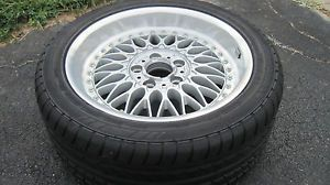 "BMW BBs 17"" Split Rim w Continental Conti Sport Contact 235 45 R 17 94Y Tire"
