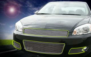 06 11 07 08 Chevy Impala Billet Grille Grill Combo 2007 2008 2009 2010 2011