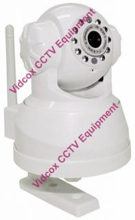 Wireless WiFi Pan Tilt IP Network Camera Webcam Nightvision 3G Phones Free DDNS
