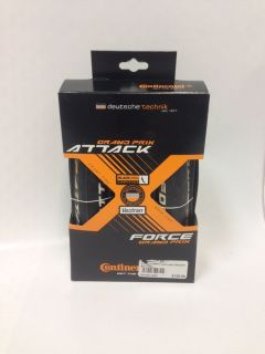 Continental Grand Prix Attack and Force 700x22 24 Tire Set