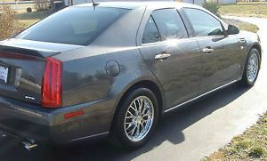 Cadillac STS DTS TSW Chrome Wheels Continental Tires