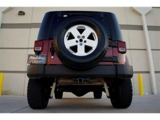 Custom Lifted Jeep Wrangler Sahara Unlimited Hard Top 4x4 Winch Driving Light