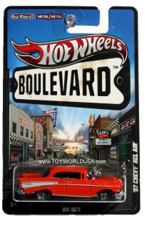 2012 Hot Wheels Boulevard Big Hits '57 Chevy Bel Air