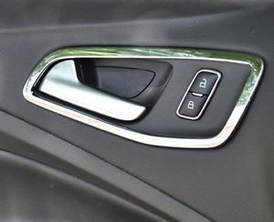 4pcs Interior Inside Chrome Door Handle Cover Trim Ford Escape Kuga 2013 2014