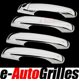 2007 2012 Dodge Journey Chrome ABS 4DR Door Handle Cover