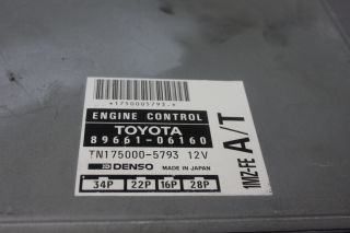 94 Toyota Camry XLE Le 3 0 V6 at 1MZ FE ECU ECM Engine Computer Unit 89661 06160