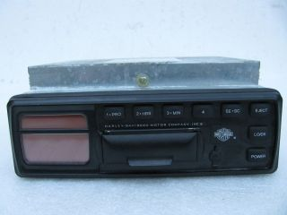 Harley Davidson Stereo Cassette Player Radio 76146 98 Ultra Classic Road Glide