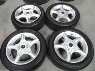 "16"" Mini Cooper s Clubman Wheels w Yokohama Tires Mini Rims"