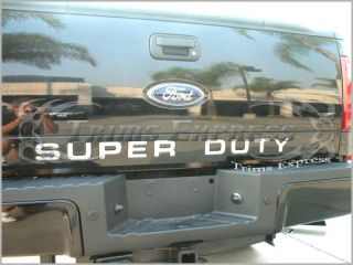 08 09 10 Ford Super Duty F 250 Tailgate Trim Molding