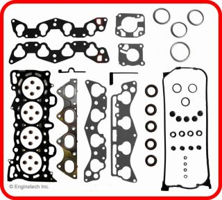 96 00 Honda Civic Del Sol 1 6L SOHC D16Y7 Engine Rebuild Kit w O Oil Pump