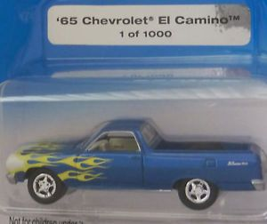 Johnny Lightning 1965 Chevrolet El Camino 1 of 1000 PMD '65 El Camino Utility Ve
