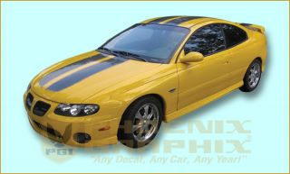 2004 Pontiac GTO Decals Stripes Kit