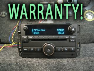 GMC Chevy CD Disc  Player Stereo Radio Yukon Silverado Sierra Tahoe 2007 2011