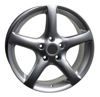 "17"" Altima 05 Silver Wheels Set of 4 Rim Fits Nissan Maxima 300zx 350Z 370Z"