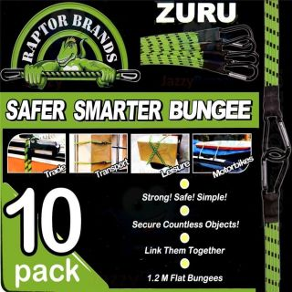 10 x 1 2M Zuru Raptors Securing Straps Tie Downs Bungee Cords Tool Ocky Occy New