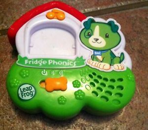 Leap Frog Fridge Phonics Magnetic Letter Alphabet System Toy Dog Scout