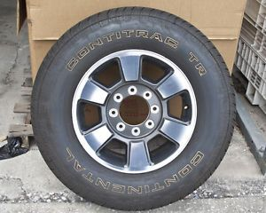 "Set of 4 18"" Alloy Wheels for A 2011 Ford F250 F350 with Continental TR Tires"