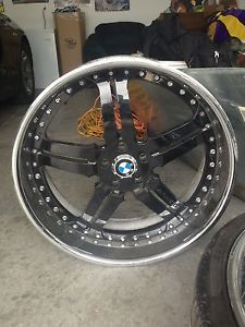 "Asanti AF 135 22"" Wheels Rims Graat Deal BMW 750"