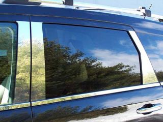 2009 2013 Dodge Journey 6pc Pillar Post Stainless Steel Trim Looks Like Chrome